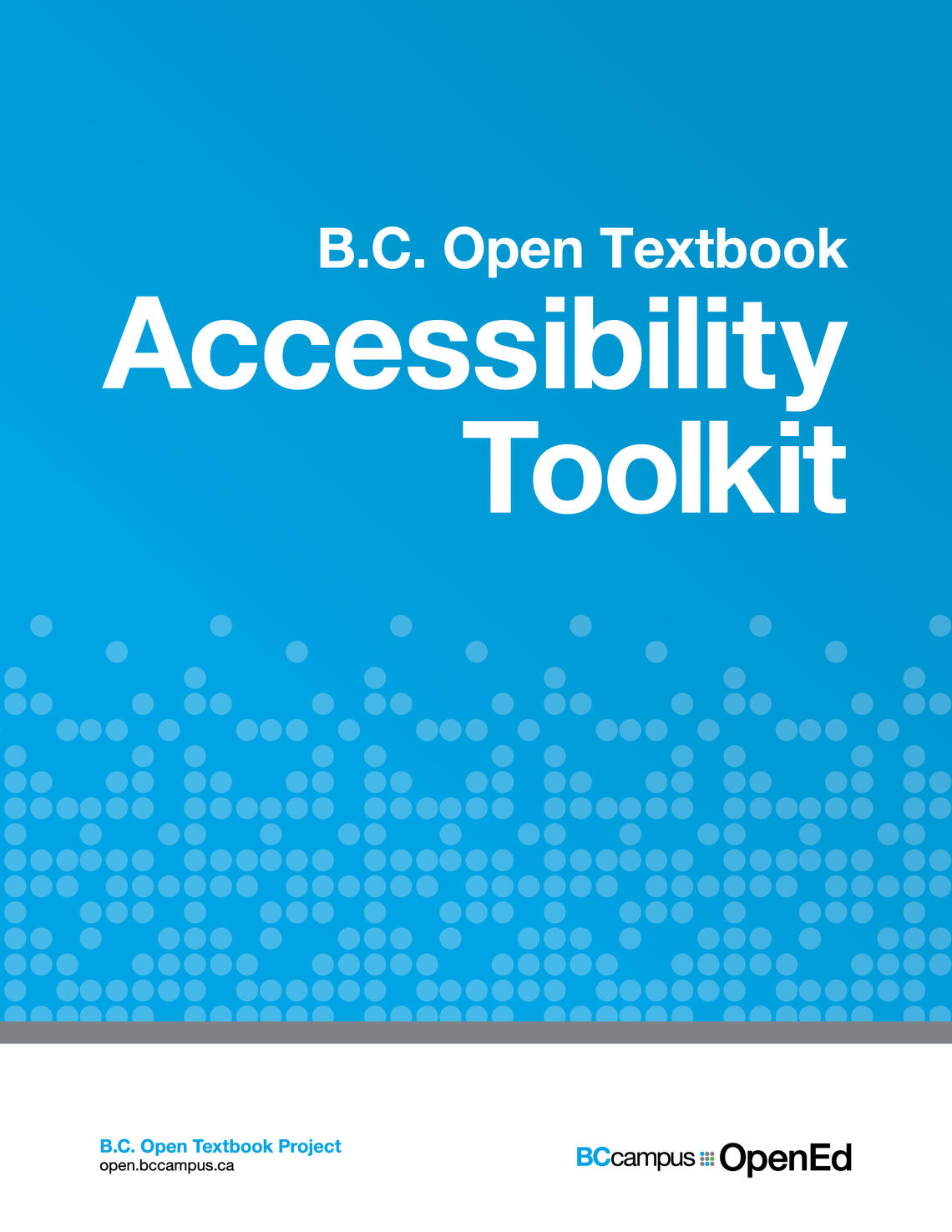 BC Open Textbook Accessibility Toolkit Book