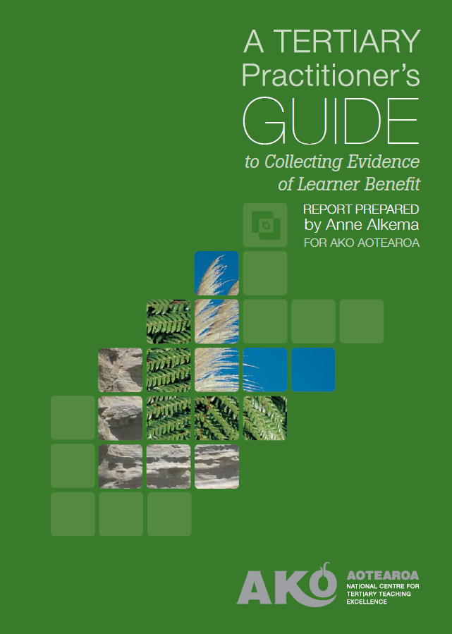 A Tertiary Practitioner's Guide to Collecting Evidence of Learner Benefit