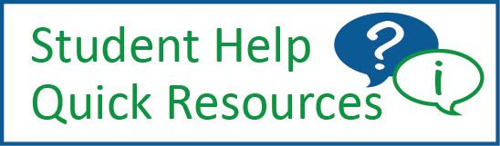 Student help resources
